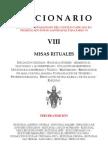 Leccionario VIII - Misas Rituales