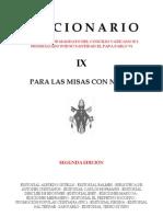 Leccionario IX - Misas con Niños