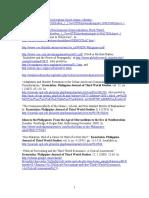 Web Addresses of Publications