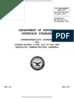 MIL-STD-188-181A