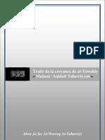 Traité de la croyance de at-Tawahiy « Matnou 'Aqidati Tahawiyyah »