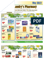 Landry's Pharmacy - May 2011 On Sale Flyer