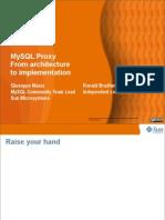 MySQL Proxy_ From Architecture to Implementation Presentation