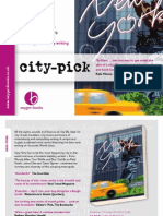 Oxygen Books city-pick travel guide series catalogue 2011-2012