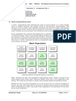 Assignment - PM0013 - Managing Human Resources in Projects - Set 1