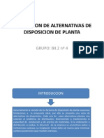 disposicion de plantas industriales