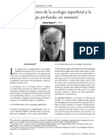 Arne Naess - Ecología profunda y ecología superficial