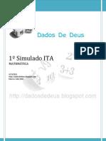 Dados de Deus - 1o simulado ITA (Matemática)
