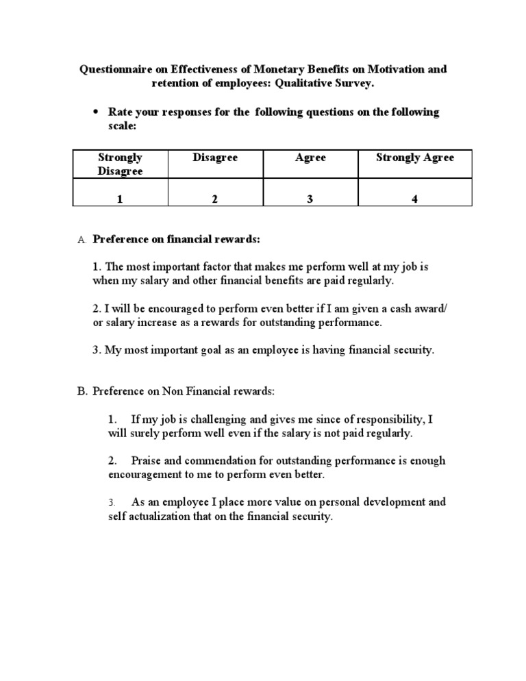 Salary Survey Questionnaire Salary Surveys Presentation Salary