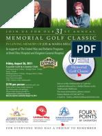 Memorial Golf 2011