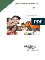 Hindustan Unilever Lmtd. by DEEPAK Kumar