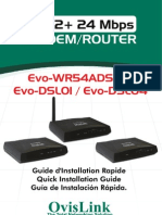 Manual Modem Router