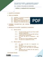 UNIDAD 8. ANÁLISIS Y EVALUACIÓN DE INVERSIONES