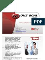 One Goal ERP