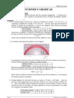 3ESO-Funciones y Graficas