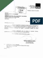 Informe ACHS Edificio CNCA