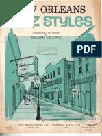 New Orleans Jazz Styles - William Gillock