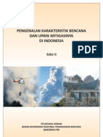 Buku Karakteristik Bencana Edisi2