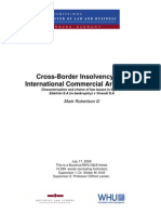 MAR CrossBorderInsolvencyandICA 170709