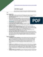 Components of CICS Web Support