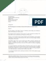 Response to ZMC on Statutory Media Council