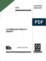 3290-97 IE ALUMBRADO PUBLICO DISENO