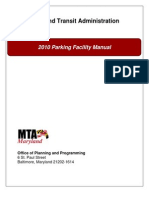 2010 MTA Parking Facilities Manual