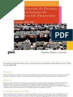 Taller | Actualización de Normas Internacionales de Información Financiera Ven-NIF | Junio 2011 | PwC Venezuela
