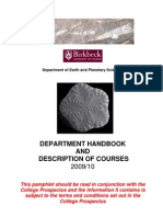 School Handbook 2010