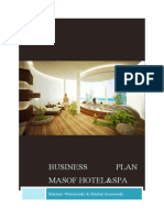 Business Plan Masof Hotel