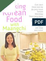 Cooking Korean Food With Maangchi Cookbook