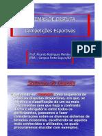 Sistemas de Disputa - Competições Esportivas