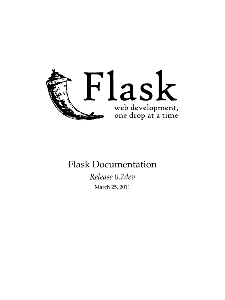 Flask Docs   Hypertext Transfer Protocol   Web Server