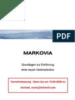 Flyer RV MARKOVIA Grundlagenpapier