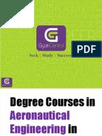 Degree Courses in Aeronautical Engineering in India