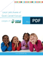 Child Care Aware of South Central Kansas 2010 Annual Report