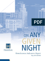 On Any Given Night - Homelessness in Hamilton