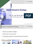 Bauer_Nestlé research strategy