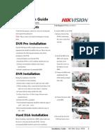 Installation Guide of DS-7604 DVR_V1.0.3N_20100203