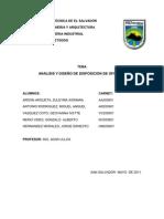 Organización y métodos ANALISIS Y DISEÑO DE DISPOSICION DE OFICINAS
