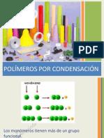IX. POLÍMEROS POR CONDENSACIÓN