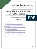 Serveur DHCP sécurisé sous Server 2008 R2 (tuto de A à Z)