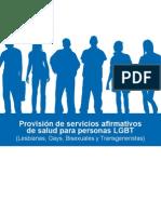 Servicios Afirmativos de Salud Para Personas LGBT