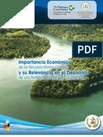 Importancia Económica de los Recursos Marino Costeros y su Relevancia en el Desarrollo de una Política Nacional para Guatemala
