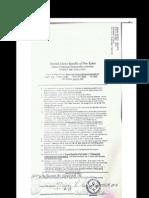 Affidavit of Citizenship and Declaration of Domicile