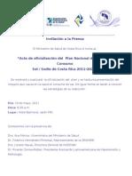 Invitacion de Prensa