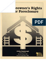 Texas Homeowners Rights Under Foreclosure
