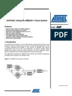 AVR1003_Using the XMEGA Clock System