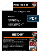 Economics Report on Pizza Hut [Compatibility Mode]