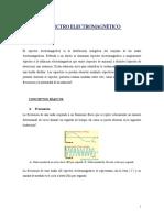 FISICA 3.ESPECTRO ELECTROMAGNETICO